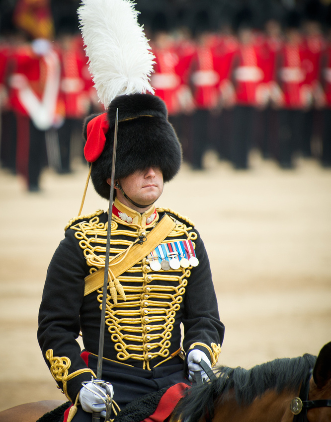An Officer of the King's Troop, Royal Horse Artillery