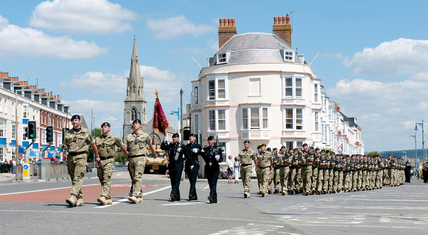 2 RTR March through Weymouth