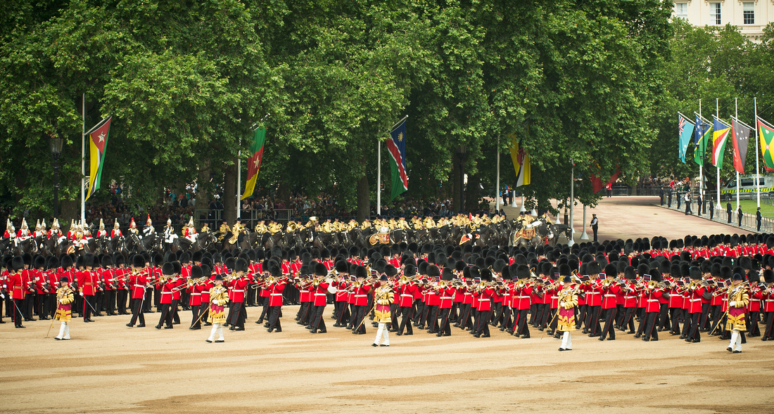 The Foot Guards Massed Band