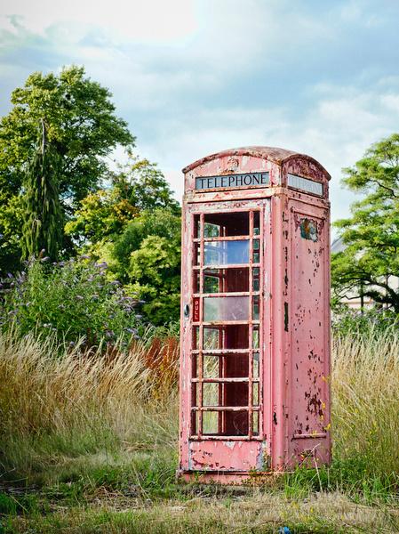 Deserted Telephone Box - Salisbury - UK