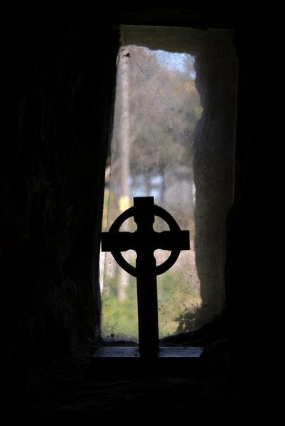 Cross - Caldey Island - Tenby - Wales